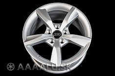 ORIGINAL Audi 0086 silver